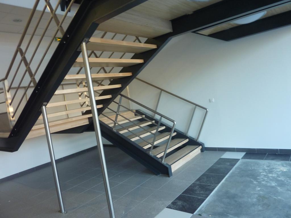grand escalier métal